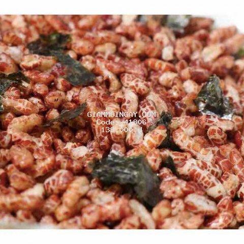 2kg gạo lứt rong biển sấy giòn cho người ăn kiêng