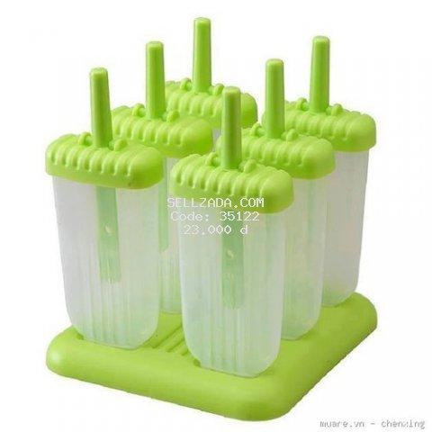 6 Khuôn làm kem nhựa cao cấp