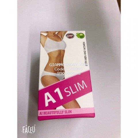 A1 SLIM viên giảm cân an toàn dành cả Nam và Nữ