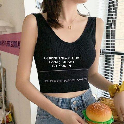 Áo bra chất liệu thun tam hàng Quảng Châu loại 1