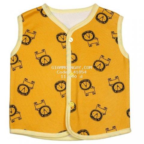 Áo gile - áo ghi lê nỉ lót bông cho bé từ 3-14kg - quần áo thu đông cho bé, áo ghi lê cho bé, áo nỉ bông