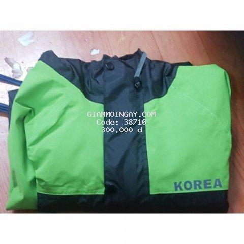 Áo mưa cao cấp chống thấm tuyệt đối KOREA.