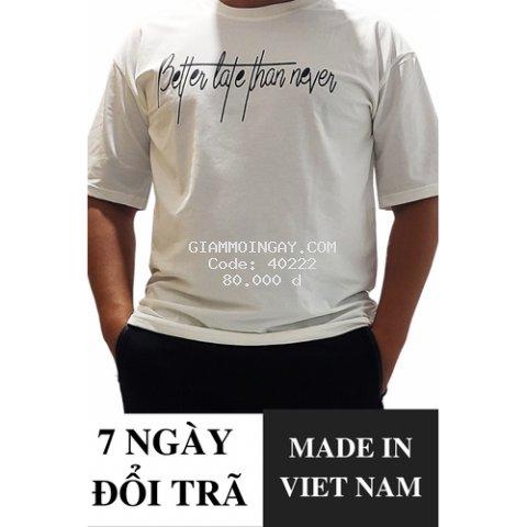 Áo thun Free size Nam PMN - Chất liệu Cotton cao cấp, không xù lông, không bai màu