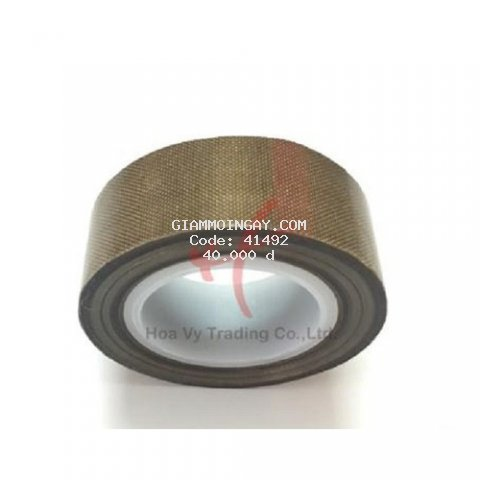 Băng dính vải chịu nhiệt Teflon màu nâu PTFE tape