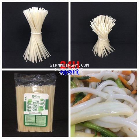 Bánh canh ống tinh bột gạo FUMA 500gr/gói. Đạt kiểm định FDA Hoa Kỳ