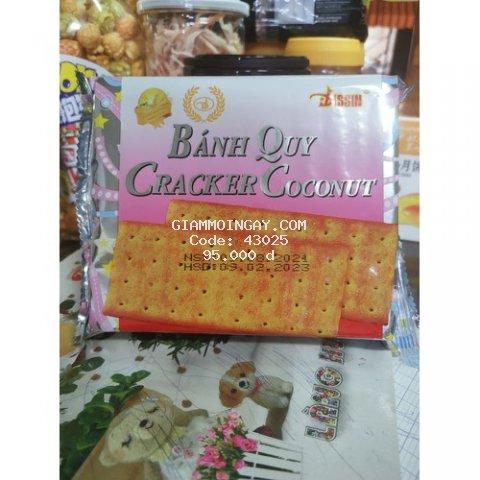 Bánh quy cracker coconut disin 150g