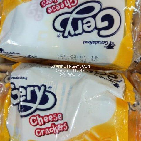Bánh Quy Phô Mai Gery Cheese Cracker Gói 100g