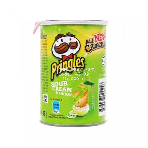 Bánh Snack Khoai Tây PRINGLES 42g - Hsd 2022