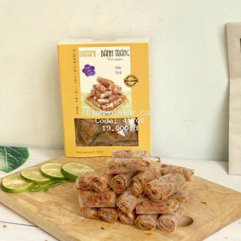 Bánh Tráng Cuộn Thập Cẩm 100g - Datami
