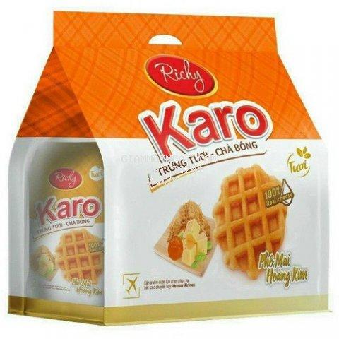 Bánh tươi Richy KARO Phô mai ( bịch 6 cái) 156g