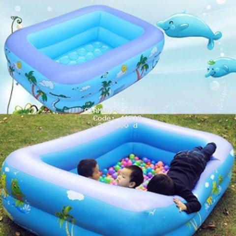 Bể bơi phao trẻ em 2 tầng 1m50 cho bé
