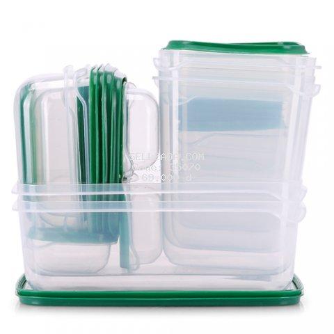 Bộ 17 hộp nhựa đựng thực phẩm Kachi MK133