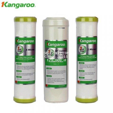 Bộ 3 lõi lọc RO Kangaroo số 1,2,3