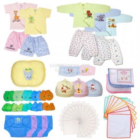 Bộ 81 Đồ Dùng Đi Sinh Cho Mẹ Dùng Cho Bé Sơ Sinh từ 2-5kg CB81 - KIBA.shop , đồ cho trẻ sơ sinh , quần áo cho trẻ sơ sinh