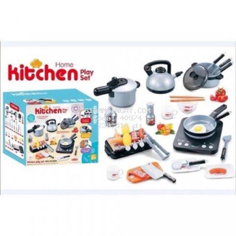 Bộ đồ chơi nấu ăn trẻ em KITCHEN 36 chi tiết Siêu đẹp-siêu bền-an toàn