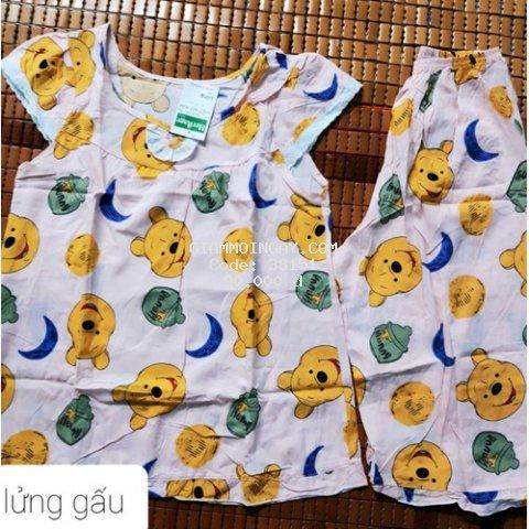 Bộ đồ nữ vải tole lanh loại 1 siêu mềm, mịn, mát (size từ 45 đến 75kg)