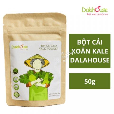 Bột cải xoăn nguyên chất Dalahouse 50g