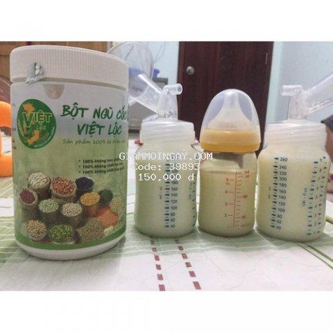 Bột ngũ cốc mẹ bầu, bột ngũ cốc lợi sữa Việt Lộc