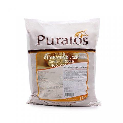 Bột nguyên cám Puravita WholeMeal Puratos gói 5kg