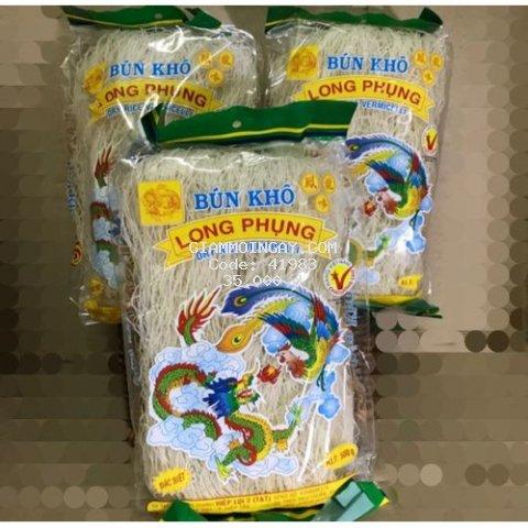 Bún Gạo Khô Long Phụng Gói(500g)