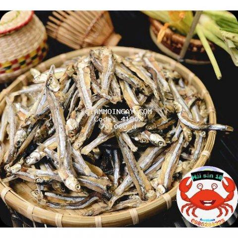 cá cơm khô bỏ đầu .500g