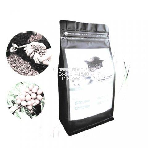cà phê HẠT Arabica Pha Máy rang mộc - gói ziper 500g - Xuất xứ Đà Lạt - Thương hiệu cà phê rang mộc LOHA COFFEE - Cà phê Loha - arabica coffee - TOP BAN CHAY