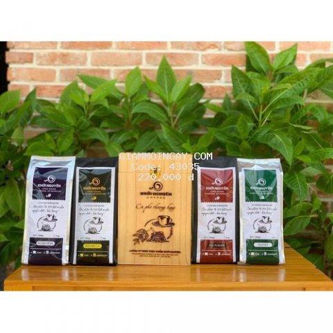 Cà phê mộc Culi nguyên chất Khởi Nguyên