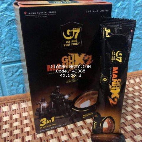 Cà phê sữa G7 Gu Mạnh - 12 gói ( 300g )