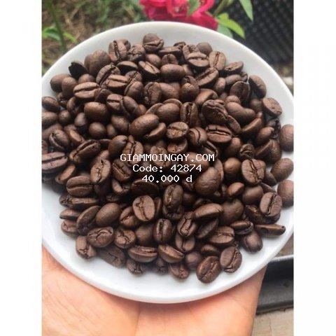CAFE NGUYÊN CHẤT ROBUSTA MỘC LÂM ĐỒNG -500GR