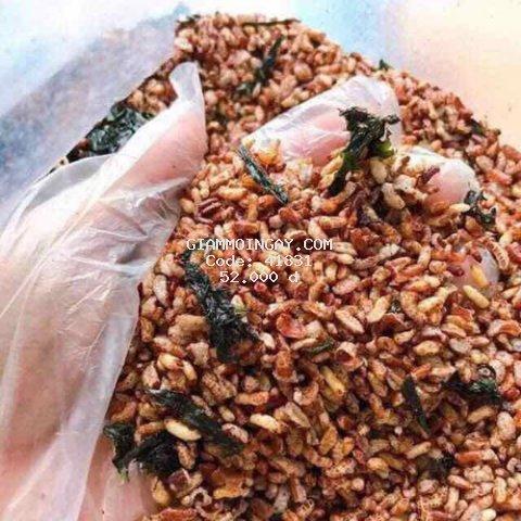 [chỉ giao MIỀN BẮC]  FREESHIP- 1kg gạo lứt sấy rong biển giòn tan giành cho người ăn kiêng và giảm cân