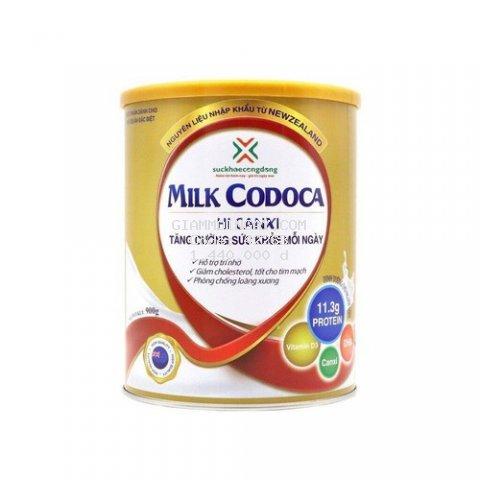 [CHÍNH HÃNG]  combo mua 3 tặng 3 Sữa tốt cho tim mạch và phòng chống loãng xương- Milk Codoca Hi Canxi 900g