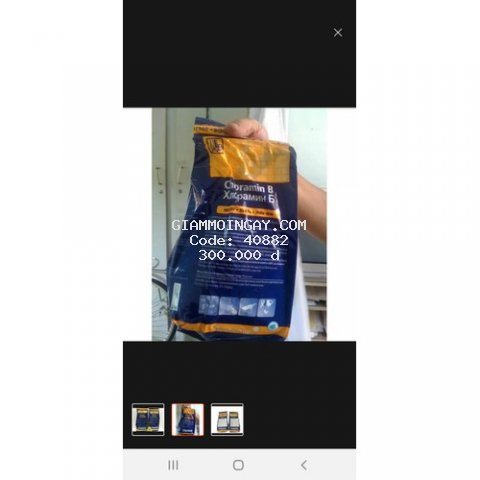 Cloramin B khử trùng hàng Tiệp bị 1kg