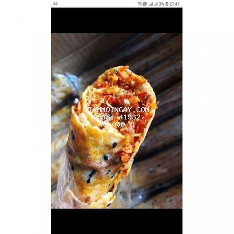 Combo 10c Bánh tráng nướng mắm ruốc Phan Rang - Anh Bảy Mập