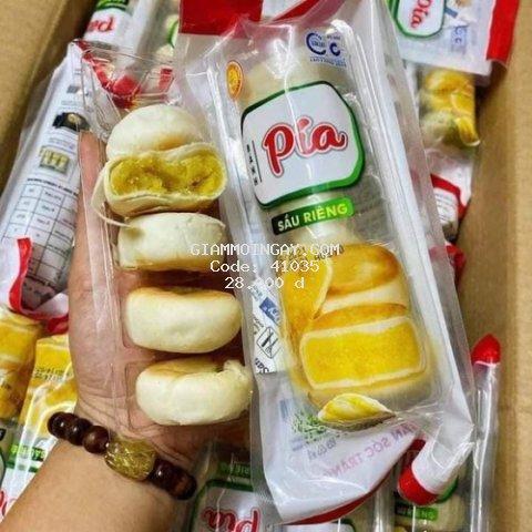 Combo 2 túi bánh Pía sầu riêng mini