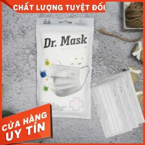 [COMBO 2 TÚI] KHẨU TRANG Y TẾ 3 LỚP - DR.MASK