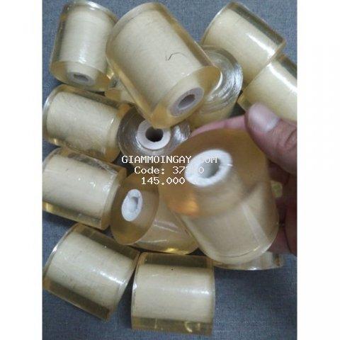 Combo 5 cuộn nilong vàng 6cm, giá 150.000đ, sản phẩm thường dùng trong spa và viện thẩm mỹ.