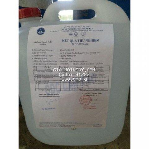 cồn y tế sát trùng, diệt khuẩn, cồn thực phẩm 70 độ, 5 lít, khuyến mãi 1 chai xịt 250ml