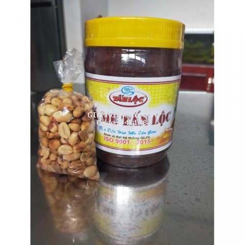 Đá me hạt dẻo kèm đậu phộng - đã khát mùa nắng nóng [900g]