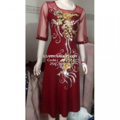 Đầm dạ hội phom ngắn