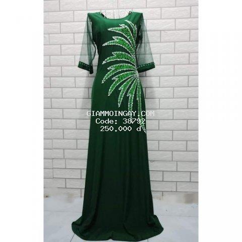 Đầm dạ hội trung niên dáng dài