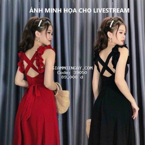 Đầm đi biển - H&T HOUSE CLOTHING -Chỉ Bán LiveStream