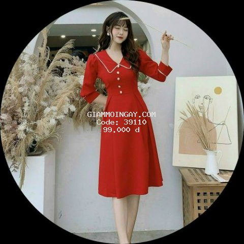 Đầm đi tiệc đỏ