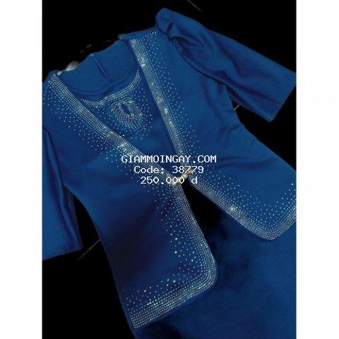Đầm vest đính đá sang trọng