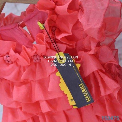 Đầm Voan Phối Hoa