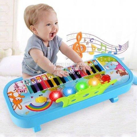 đàn piano có nhạc - chất lượng cao - hỗ trợ bé tập đàn (MB201-3342)