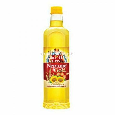 dầu ăn neptune gold 1 lít