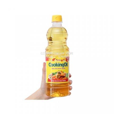 Dầu ăn Tường An Cooking Oil chai 1 lít