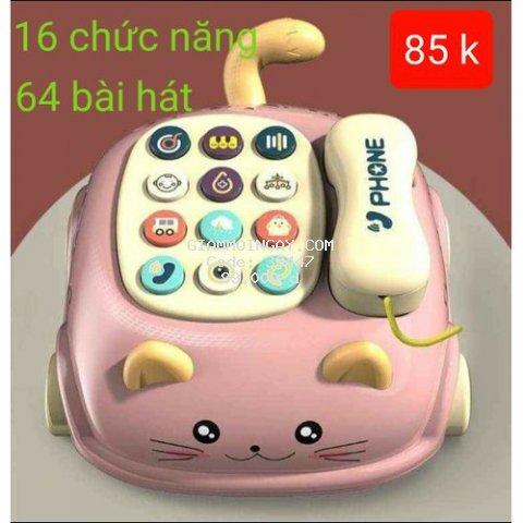 Điện thoại oto cho be