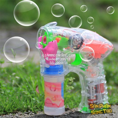 Đồ chơi  bắn bong bóng xà phòng
