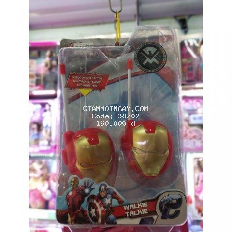 Đồ chơi bộ đàm đôi thông minh Iron Man 178-261